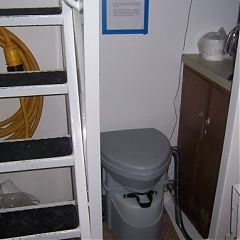 On an AirForce vessel