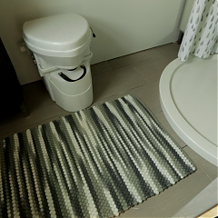 Nature's Head Toilet  featured on Tiny House Nation