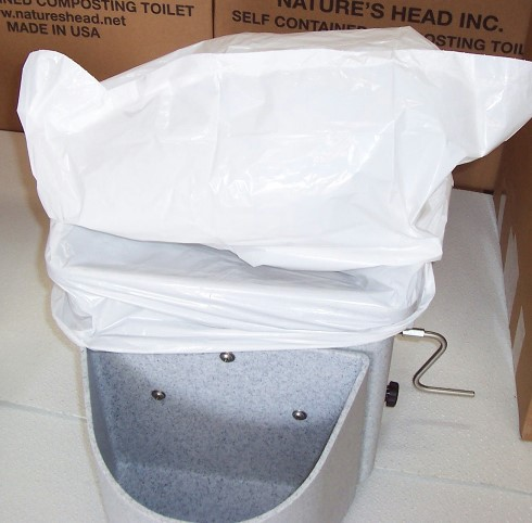 Nature's Head Composting Toilets -- The Official Site: User